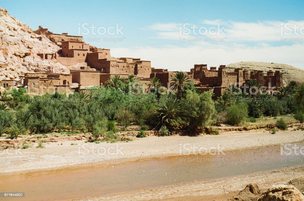 Ait Ben Haddou Casbah stock photo
