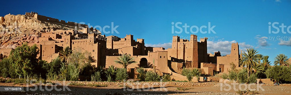 Ait Ben haddou stock photo