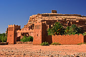Ait Benhaddou, ancient fortification, near the city of Warzazat