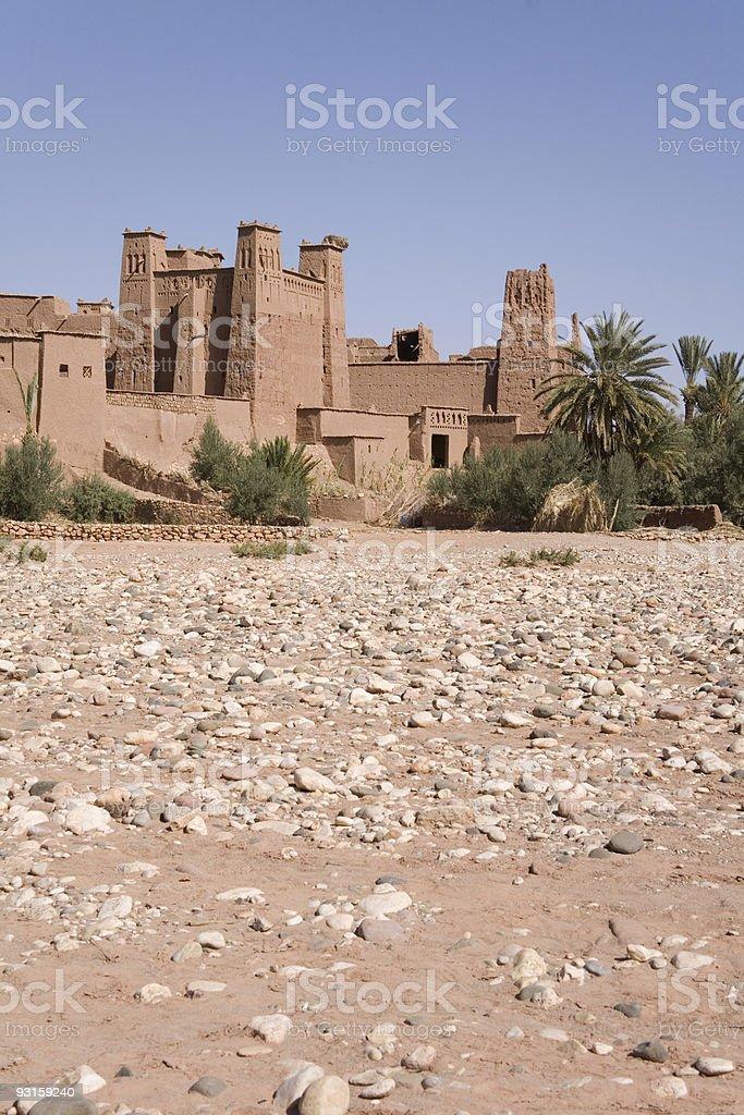 Ait Benhaddou Kasbah, Morocco. royalty-free stock photo