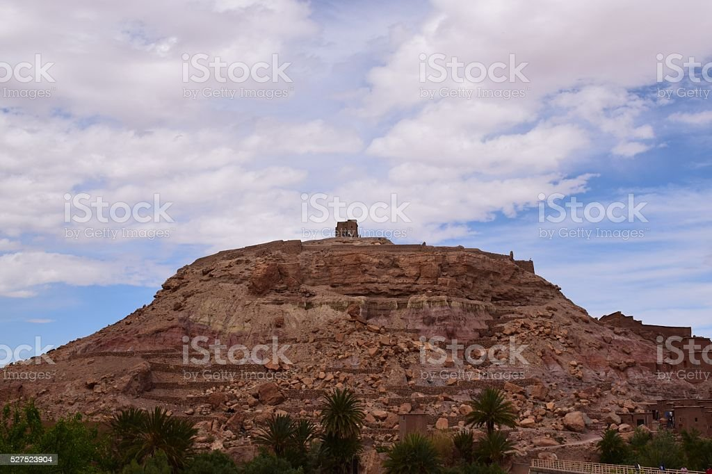 Ait Benhaddou Kasbah stock photo