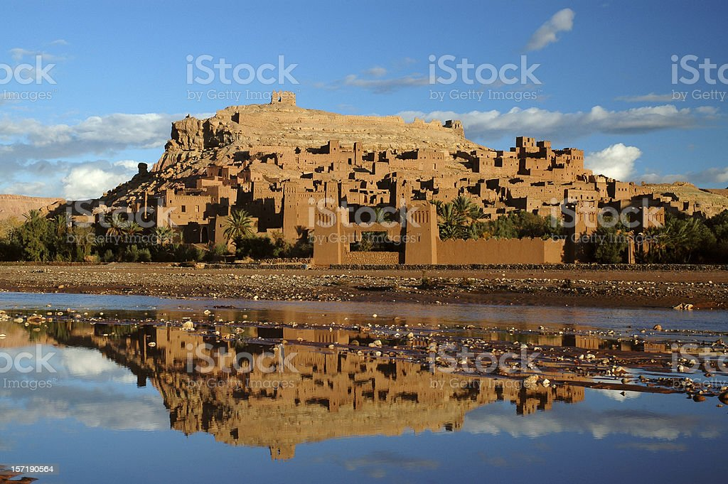 Ait Benhaddou Morocco stock photo