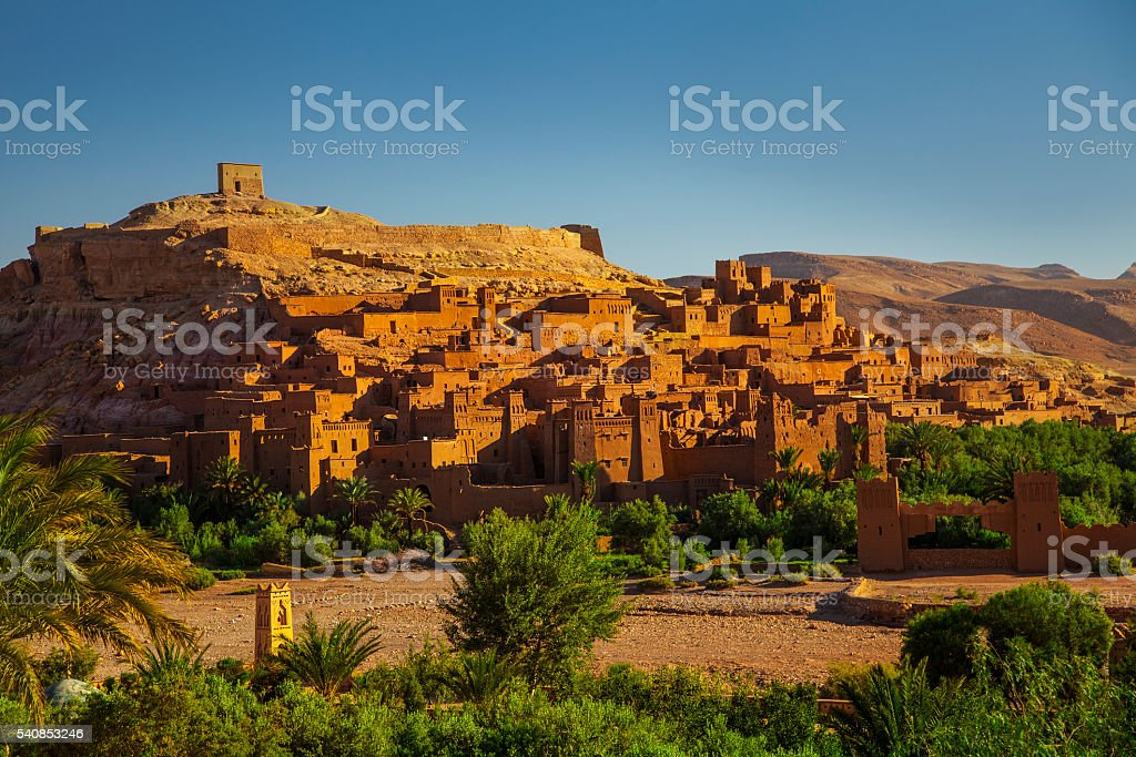 Ait Benhaddou, Morocco stock photo