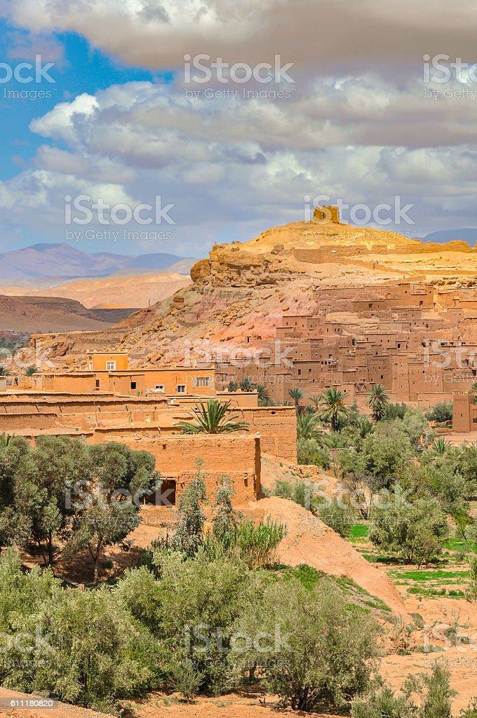 Ait Benhaddou, Morocco stock photo