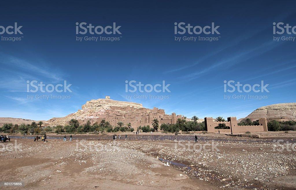 Ait Benhaddou, Ouarzazate, Marocco royalty-free stock photo