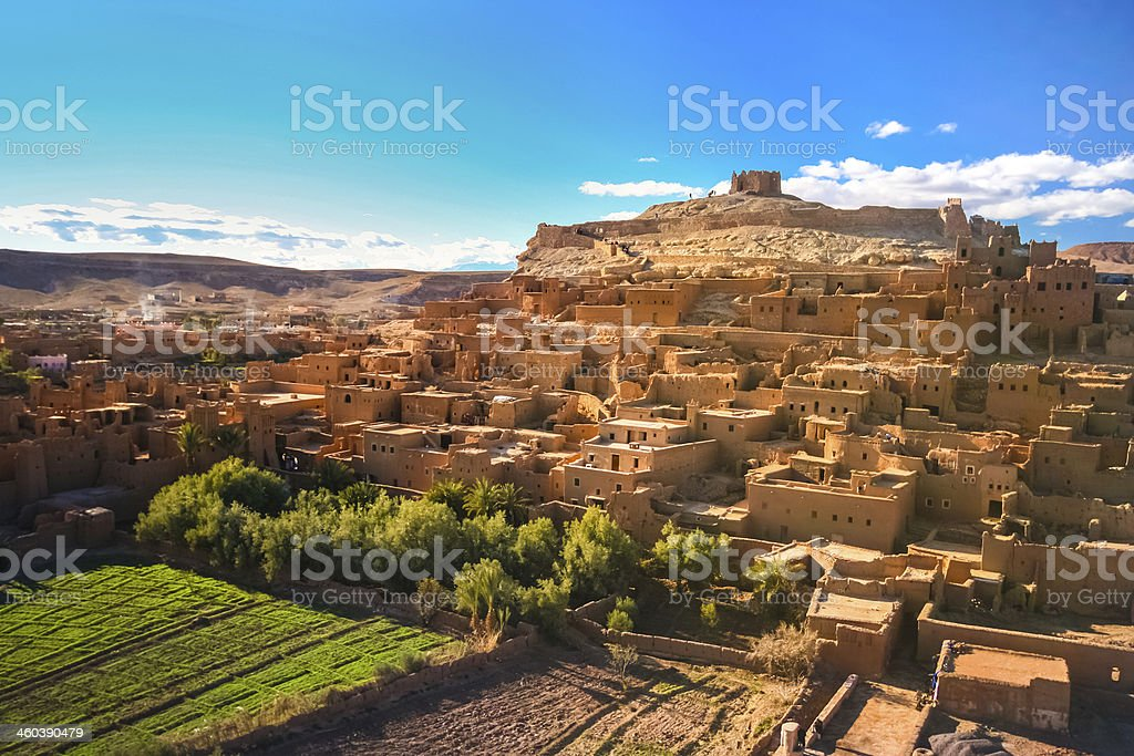 Ait Benhaddou, Ouarzazate, Morocco. stock photo