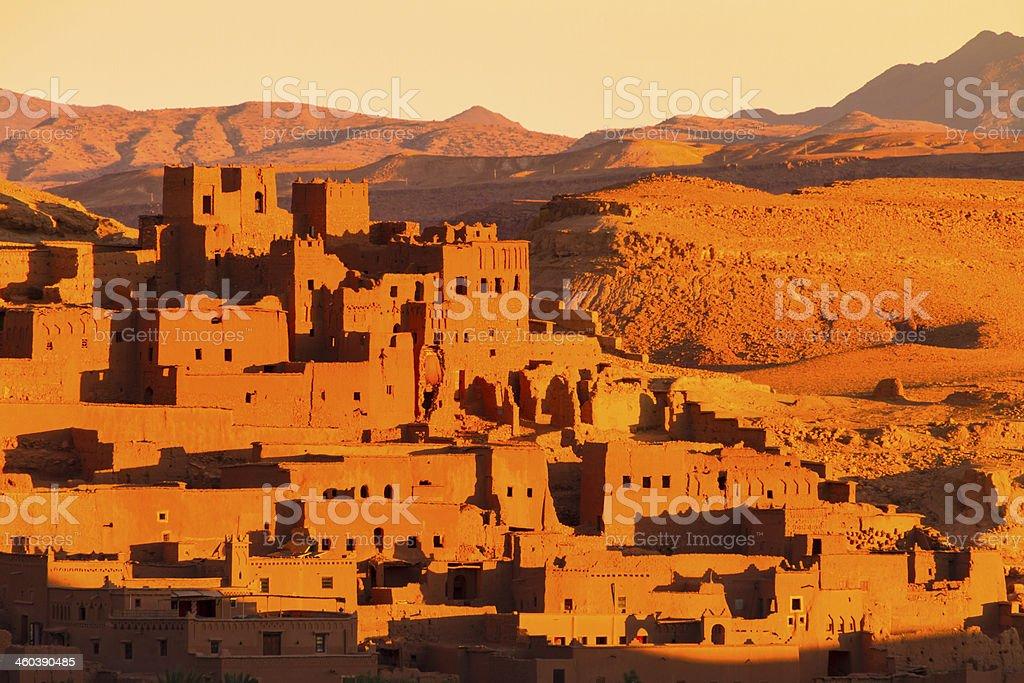 Ait Benhaddou, Ouarzazate, Morocco. stock photo