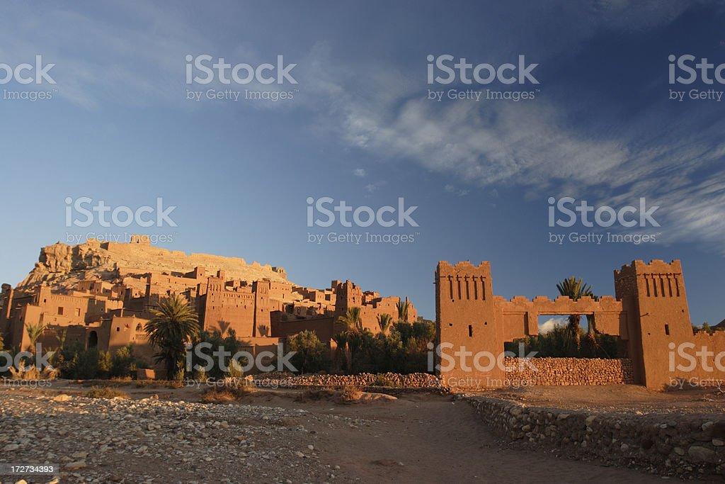 Ait Benhaddou royalty-free stock photo