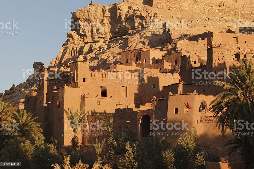 Ait Benhaddou royalty-free stock photo