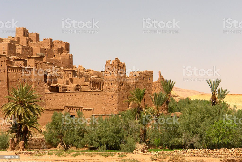 ait benhaddou stock photo