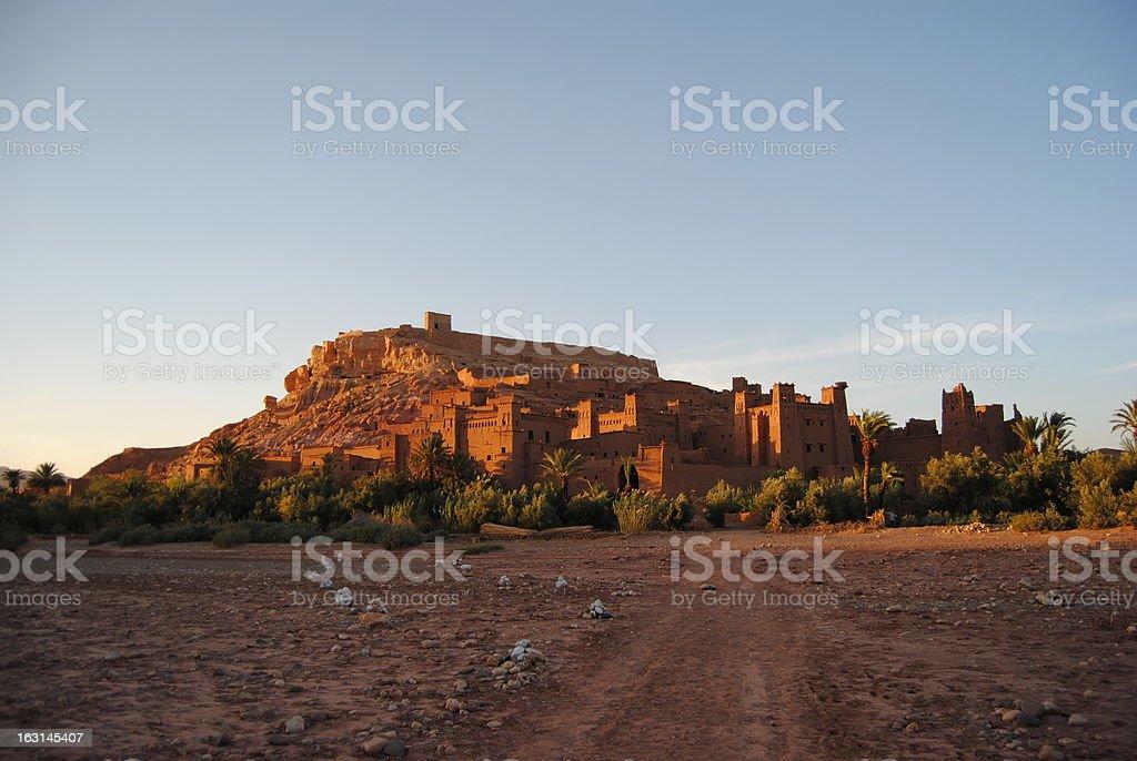 Ait-Ben-Haddou royalty-free stock photo