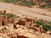 Ait-Ben-Haddou, the Ancient Fortified City in Morocco
