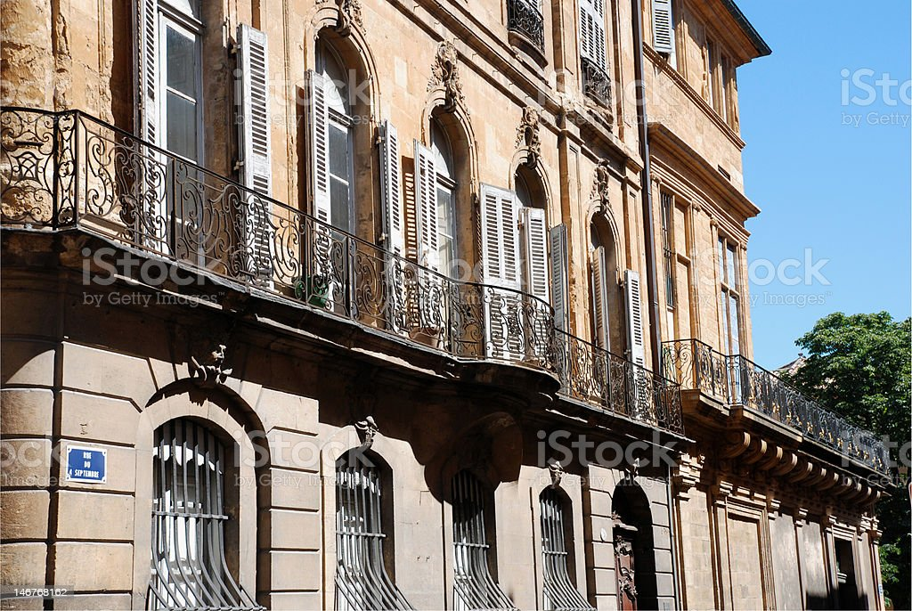 Aix en provence (south of France) royalty-free stock photo