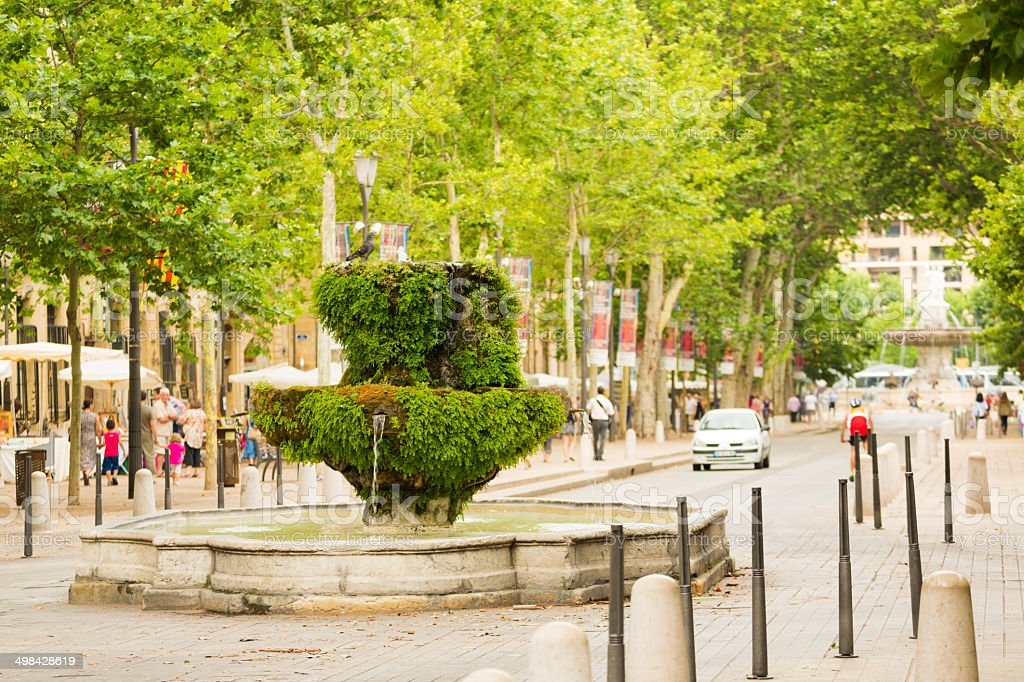Aix-en-Provence, France stock photo