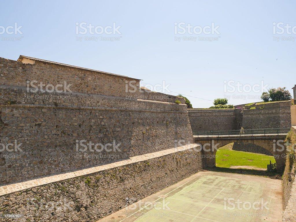 Ajaccio citadel royalty-free stock photo