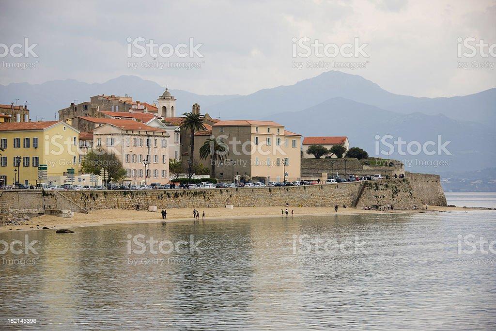 Ajaccio, Corsica stock photo