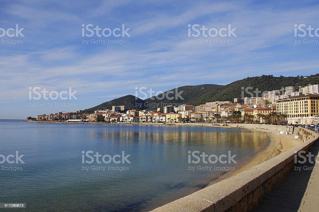 Ajaccio stock photo