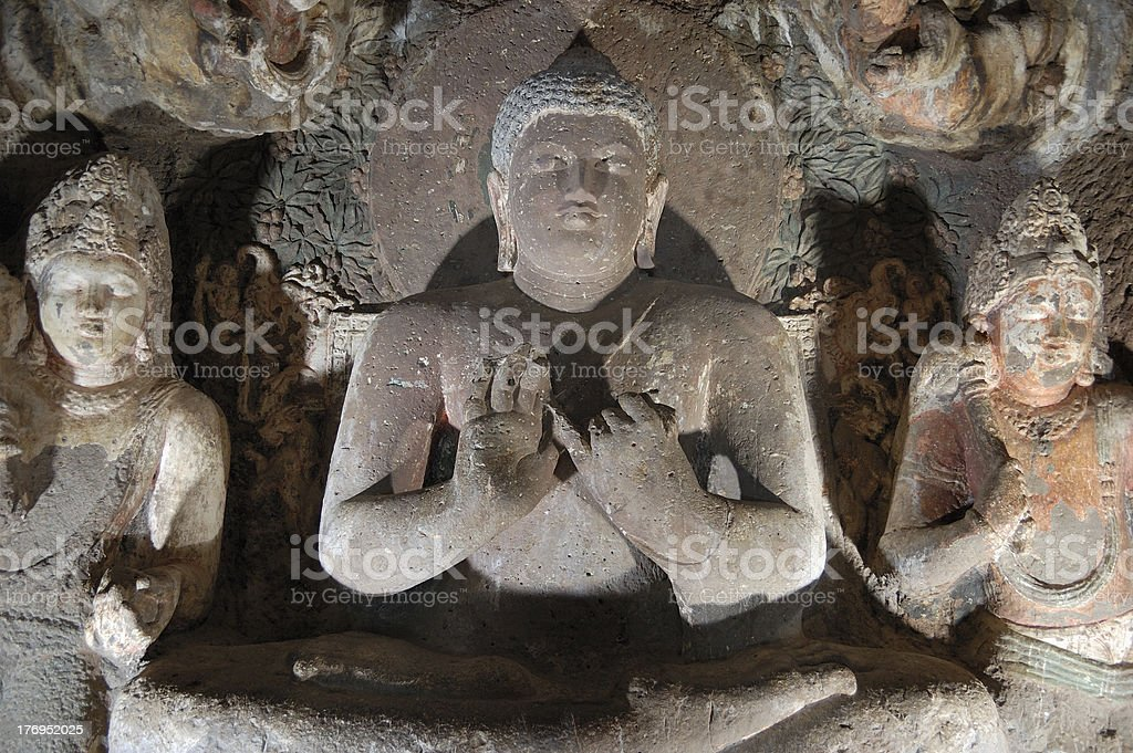 Ajanta Caves stock photo