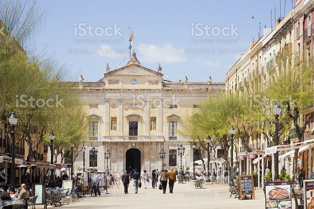 Ajuntament de Tarragona stock photo
