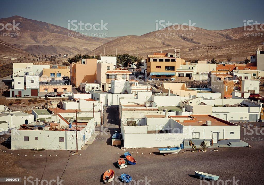 Ajuy-malerischen Dorf auf der Insel Fuerteventura Lizenzfreies stock-foto