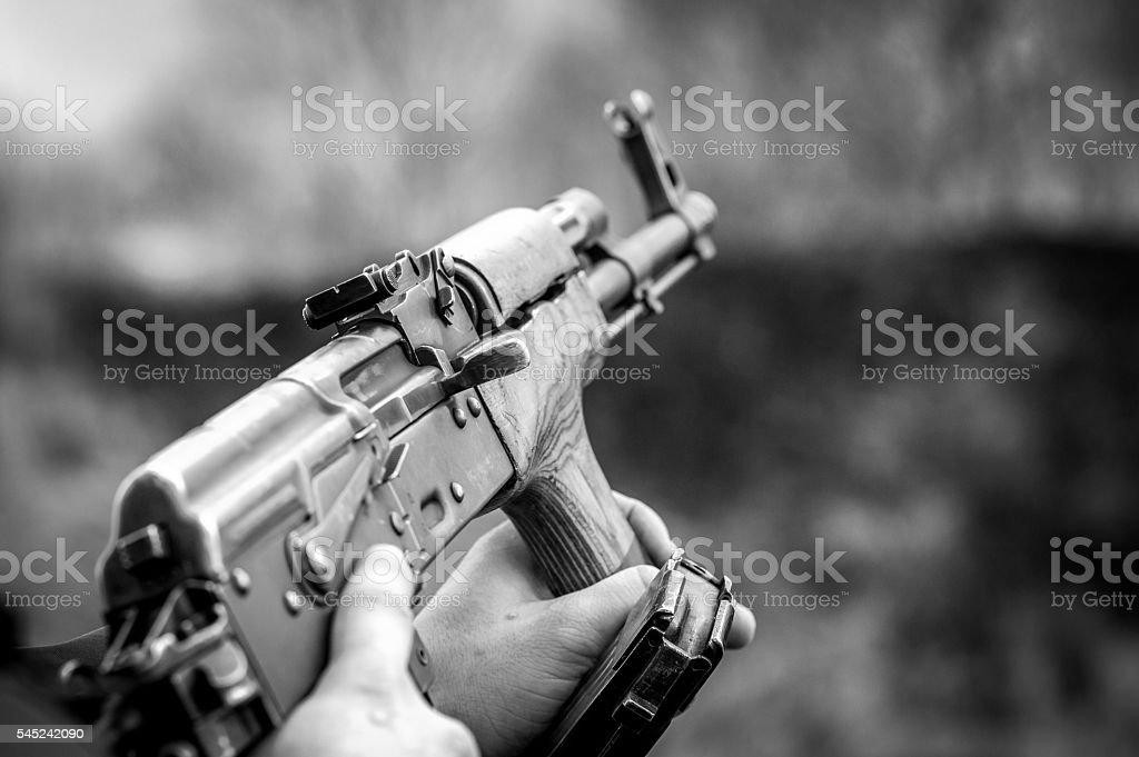 Ak-47 stock photo