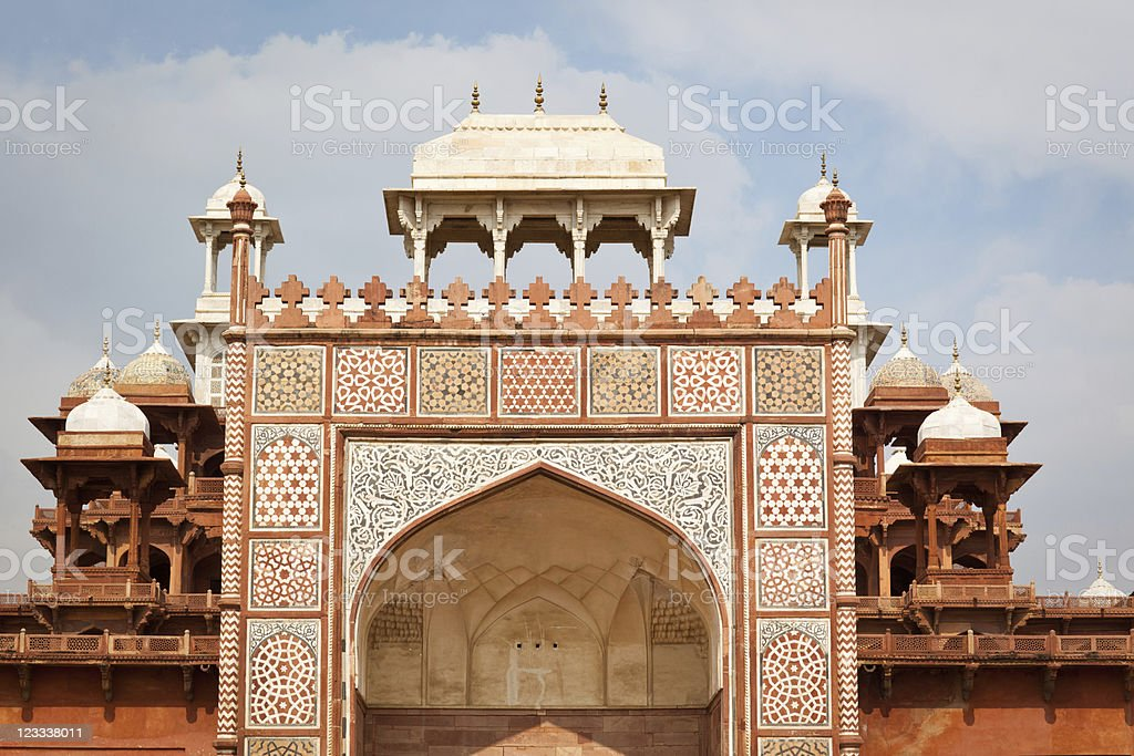 Akbars Mausoleum royalty-free stock photo