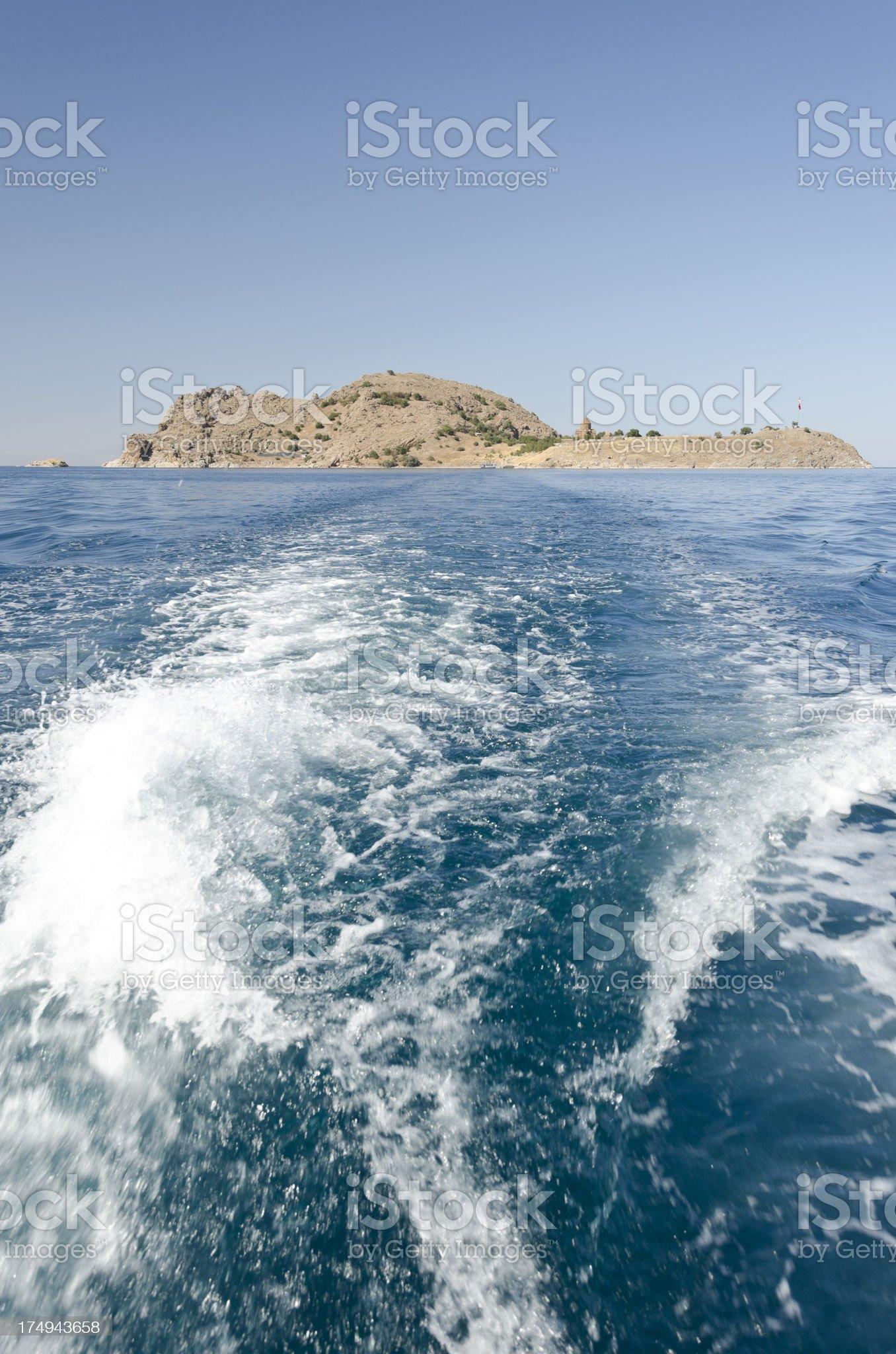 Akdamar Adasi Akhtamar Island royalty-free stock photo