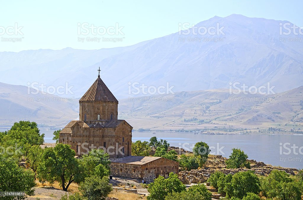 Akdamar Island royalty-free stock photo