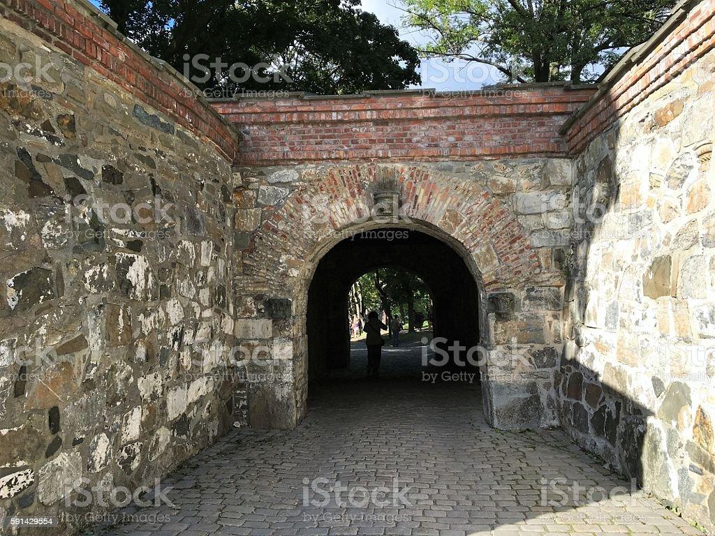 Château fort d'Akershus à Oslo photo libre de droits