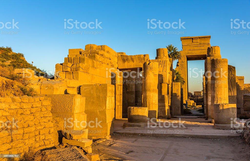 Akhmenu (Festival Temple of Thutmose III) - Luxor, Egypt stock photo