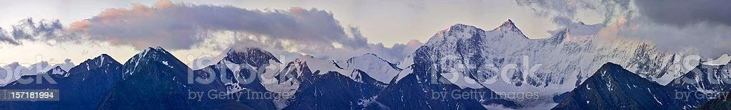"Akkem ""wall"". Beluha. Altay stock photo"