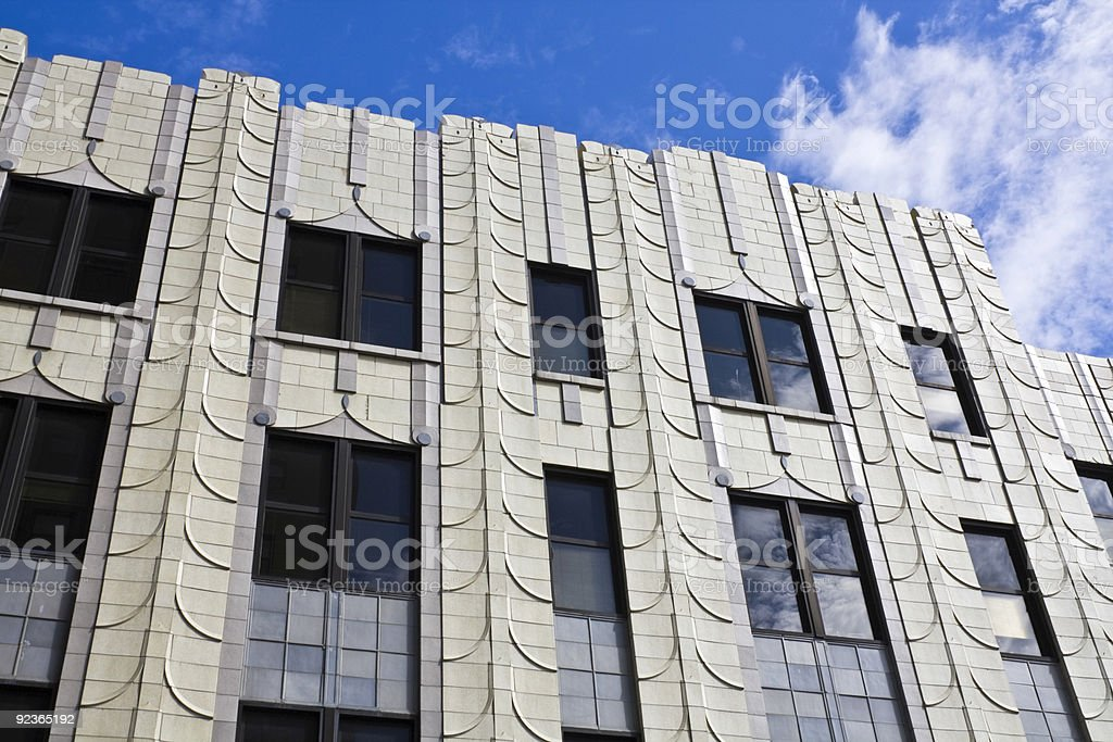 Akron, Ohio - historic building. stock photo