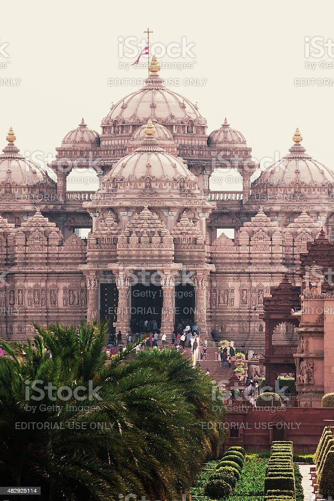 Akshardham temple. New Delhi, India stock photo