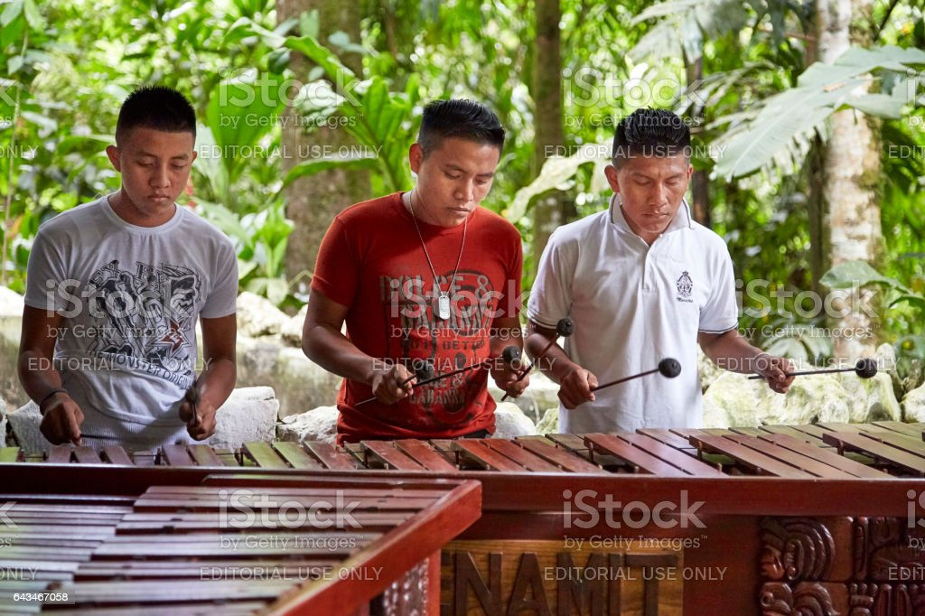 Ak'Tenamit School, Guatamala stock photo