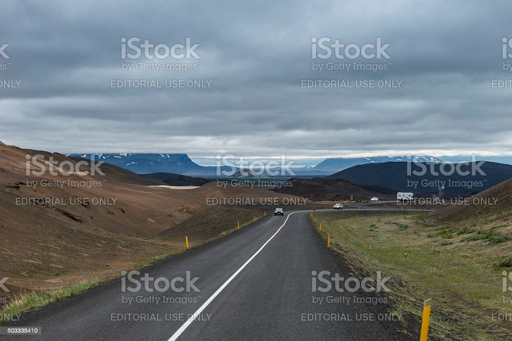 Akureyri - Iceland stock photo