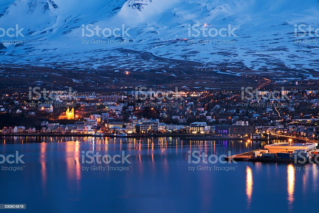 Akureyri stock photo