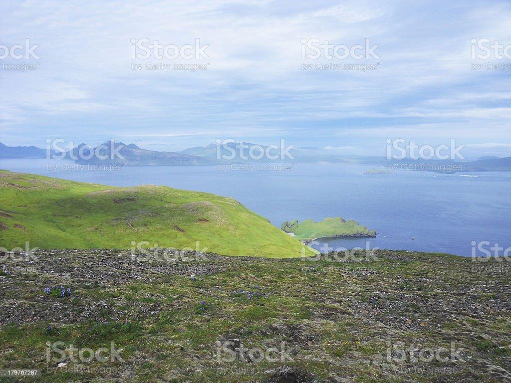 Akutan - Unalaska. stock photo