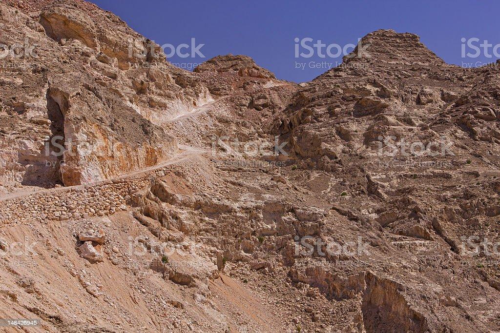 Al Ain, UAE - Jebel Hafeet royalty-free stock photo