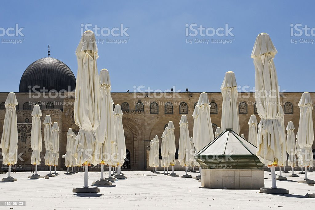 Al Aksa Mosque royalty-free stock photo