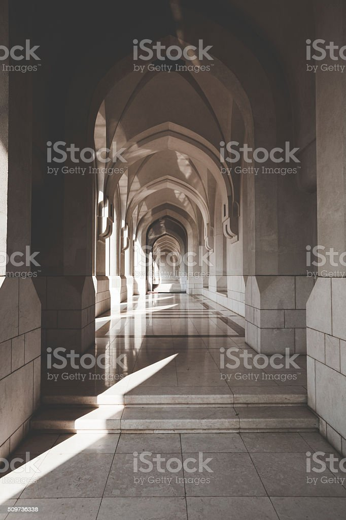 al alam palace in old muscat, oman stock photo