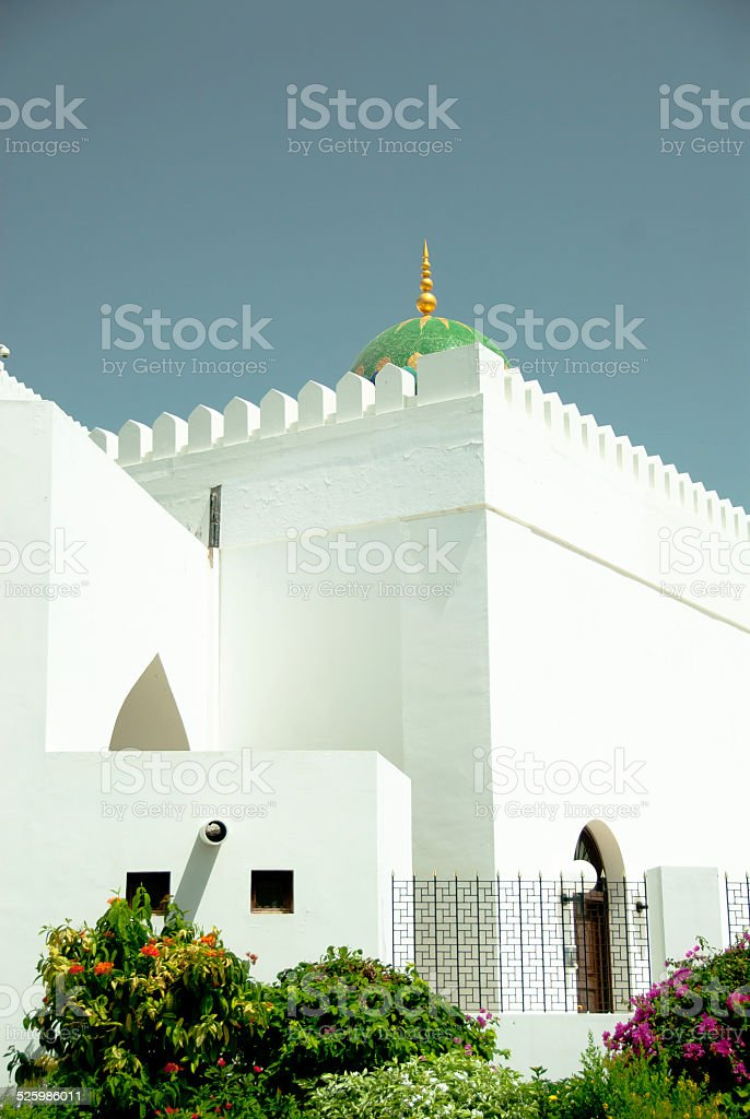 Al Alam Palace, Muscat, Oman stock photo