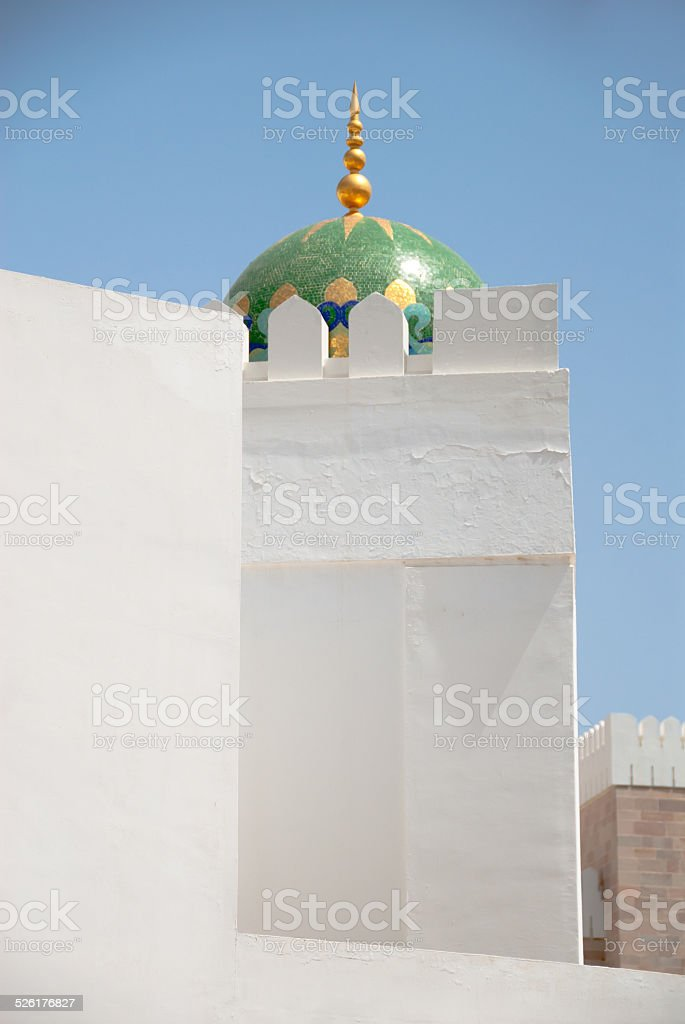 Al Alam Palace, Oman stock photo