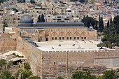 Al Aqsa mosque on temple mount in Jerusalem, Israel