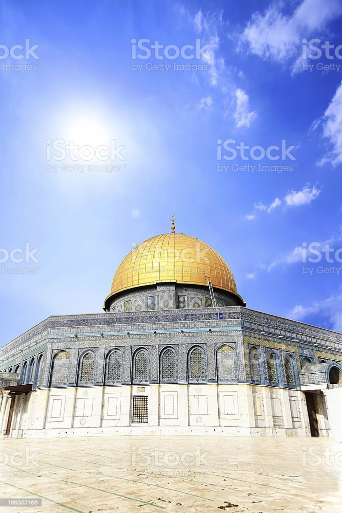 Al Aqsa royalty-free stock photo