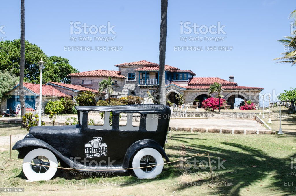 Al Capone's house stock photo