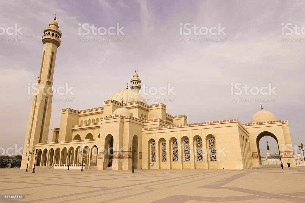 Al Fateh mosque Bahrain stock photo