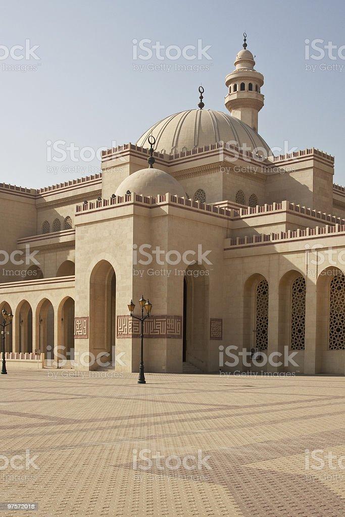 Mesquita de Al Fateh, Barém foto de stock royalty-free