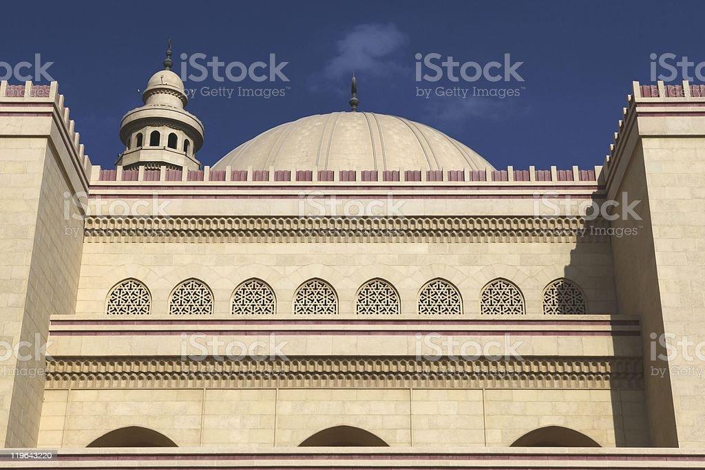 Al Fateh Mosque, Manama, Bahrain stock photo