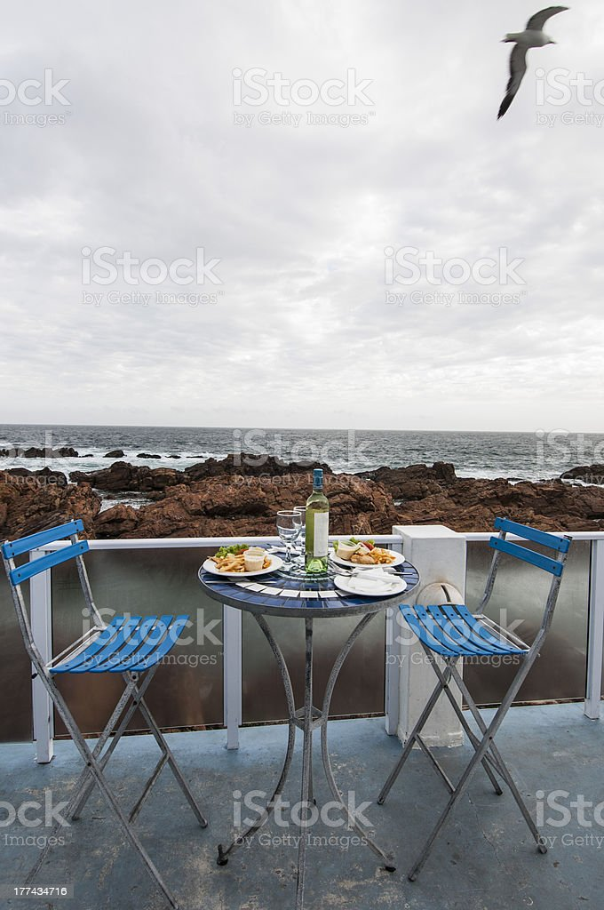 Al Fresco Lunch royalty-free stock photo