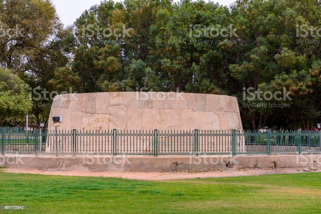Al Hili tomb stock photo